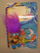 Knolli Zwerg Gnom Troll Pink Haare Figur Zaubertroll mit Verpackung OVP