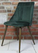 Design Esszimmerstuhl Stuhl Polsterstuhl Sessel Dining Chair Grün U-Q8