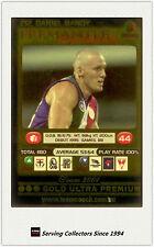 2001 AFL Teamcoach Gold Parallel Card 212 Daniel Bandy (Fremantle)