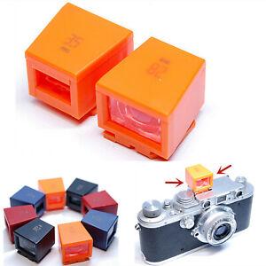 Für Ricoh GR Leica X Kamera 28/35mm External Optical Side Axis Viewfinder Sucher