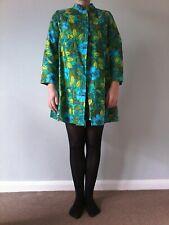 Vintage Dorothy Spencer 1960s/mod multi-coloured coat and dress size 8-10