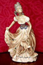 Vintage Very Rare 'Tengra' Porcelain Dancing Lady, Spain