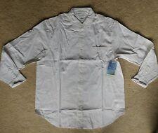 Insect Shield Repellent Mens White LS Cotton Oxford Shirt SZ L ~ New!