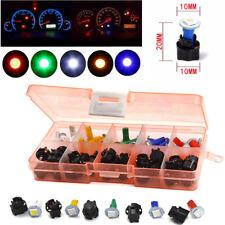 30 Sets 12V Car Auto T5 5050 LED Socket Instrument Panel Plug Dash Light 5 Color