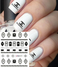 ❤️NOUVEAU STICKERS LOGO MARQUE BIJOUX ONGLES WATER DECALS NAIL ART