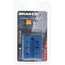 Brakco High Performance Road Brake Pads For Carbon Rims - Shimano/SRAM