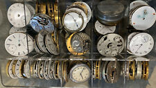 Huge Lot Of Pocket Watches Parts
