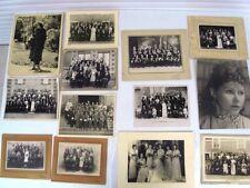PHOTOS anciennes diverses en noir et blanc - 23 pièces originales de 1900 à 1950