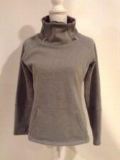 Kyodan Women's Cowl Neck Sweatshirt Heather Gray Size Small