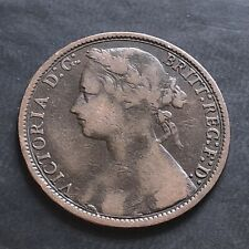 More details for 1875 -one penny coin-queen victoria-#la669