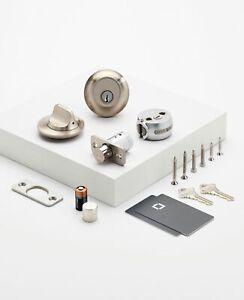 Level Lock Touch, Single Cylinder Smart Deadbolt Bluetooth Capacitive Technology