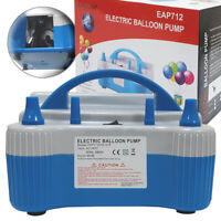 Electric Balloon Pump High Power Balloon Inflator Air Blower 680W 2 Modes 240V