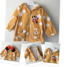 Disney Minnie Mouse & Mickey baby girls summer jacket 6-9 Months exc condition