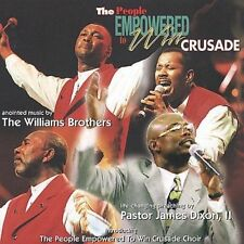 The People Empowered to Win Crusade by The Williams Brothers (CD, Jan-2002, Blac