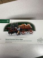 Dept 56 Dickens Village Gourmet Chocolates Delivery Wagon  #58523 New In box
