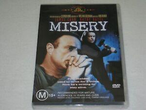 Misery - Kathy Bates - Brand New & Sealed - Region 4 - DVD