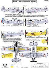 Berna Decals 1/48 French NORTH AMERICAN T-6G TEXAN IN ALGERIA 1957-1961