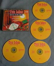 TEX MEX HOTTEST TEX MEX SONGS various 4-CD BOX CD 71 tr 2000 Compilation album