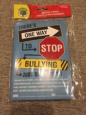 Pledge Cards Teaching Tree 25 Units Stop Bullying Classroom Homeschool Fast Ship
