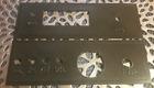3D printed Front / Back panel for EF01 case for uBITX HF Transceiver BLACK