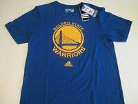 Golden State Warriors Adidas Men's Small Big Logo Tee Shirt - New W/Tags