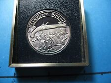 FLINTLOCK PISTOL FIRST HANDGUN MADE IN AMERICA GUN NRA 999 SILVER COIN RARE #5