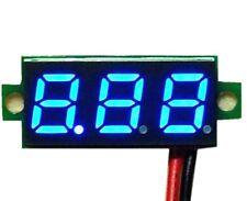 Voltmètre testeur 3 chiffres bleu DC 3-30 V Digital blue LCD voltmeter 3 digit