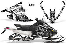 Arctic Cat F Series Sled Wrap Snowmobile Graphics Kit Stickers Decals HAVOC WHT