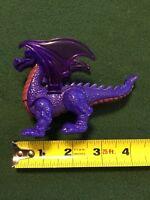 "1998 Purple Dragon 4"" McDonald's PVC Action Figure #6 Disney Animal Kingdom"