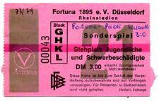 Ticket friendly Fortuna Düsseldorf - PAOK Saloniki 1973-74