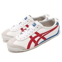 Asics Onitsuka Tiger Mexico 66 OT White Red Blue Mens Shoes Sneakers D4J2L-0123