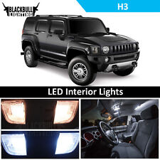 White LED Interior + Reverse Light Accessories Package fits 2005-2010 Hummer H3
