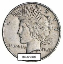 Bulk Lot VG-XF (1) 1922-1925 P/D/S Peace Silver Dollar 90% Eagle Collection