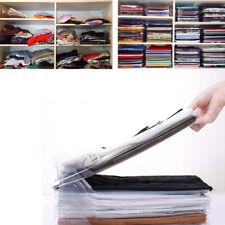 10 Pack T-Shirt Clothes Folding Board Folder Large Magic Fast Laundry Organizer