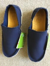 "Crocs Santa Cruz Loafers Men's Size 10 m.. 2 LEFT SIDED SHOES ONLY. ""BRAND NEW""."