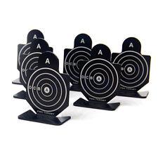 6pcs Metal Airsoft Pistolet pratique Silhouette Tir cible cible pour Pellet HG