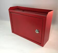 Metal Donation Box Metal Cash Box Mail Box Collection Fundraising Suggestion Box