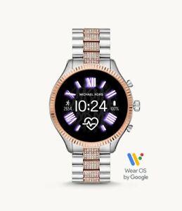 Michael Kors Lexington Gen 5 Glitz Two Tone Touchscreen SmartWatch MKT5081 44mm