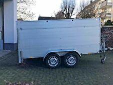 PKW: Koffer Anhänger ANSSEMS GTT 1500-301 VT Alu Verkleidung Nutzlast 1100 kg