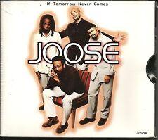 JOOSE If tomorrow Never comes w/ RARE EDIT & REMIX CD single 1997 USA SEALED