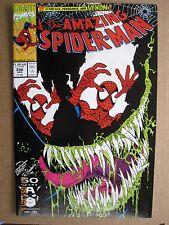 1991 MARVEL COMICS THE AMAZING SPIDER-MAN #346 VENOM COVER ERIK LARSEN ART