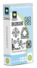 *New* ORNAMENTAL IRON 2 Font Decor Cricut Cartridge Factory Sealed Free Ship