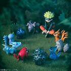 Naruto Action Figures Shippuden Uzumaki & Tailed Beast Figurines 10pcs a set