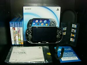 Sony PS Vita Console Boxed with 4 GB Sony Memory Card and 11 Games Bundle