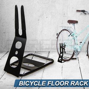 Premium Floor Stand Holder Triangle Rear Hub Mount Bike Bicycle Storage Rack Bla