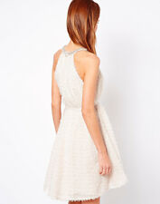 French Connection Glitter Dress Snowball size UK 16 BNWT RRP £160