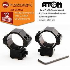 30mm Low profile dovetail rifle scope mounts / 30mm airgun, rifle scope rings