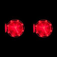 LED Cornhole Light Set  Pack of Two RED Cornhole  Bean Bag 2  Baggo Toss 8 LED