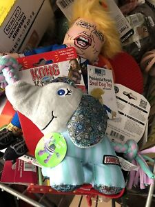 KONG Knots Carnival Elephant Dog Toy (Medium)