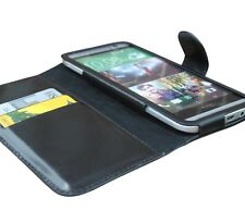 GENUINE COW-LEATHER CASE COVER for HTC One M8 & One M8s, HANDMADE from TRENDSTER